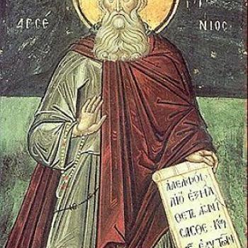 Ἀπὸ τὸ βίο τοῦ ἁγίου Ἀρσενίου